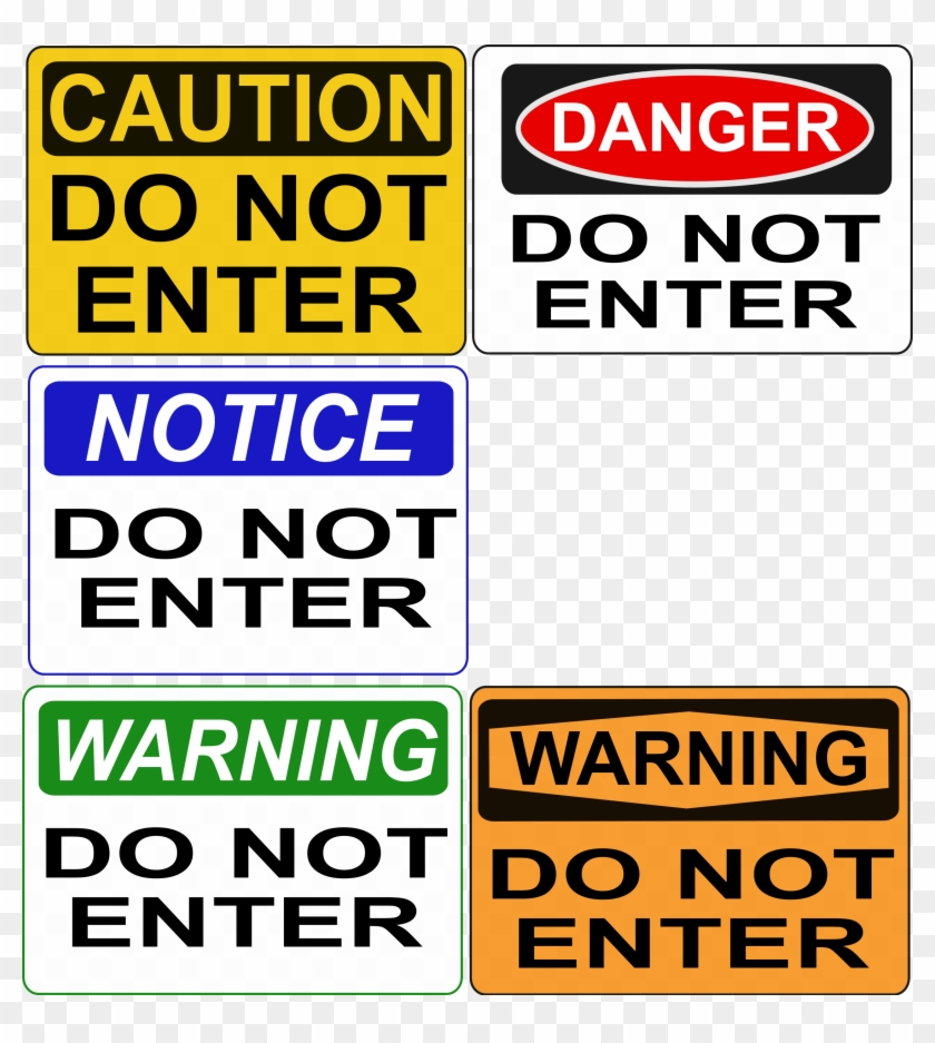 Free Do Not Enter Signs - Politically Incorrect Greeting Cards (pk Of 10) #66719