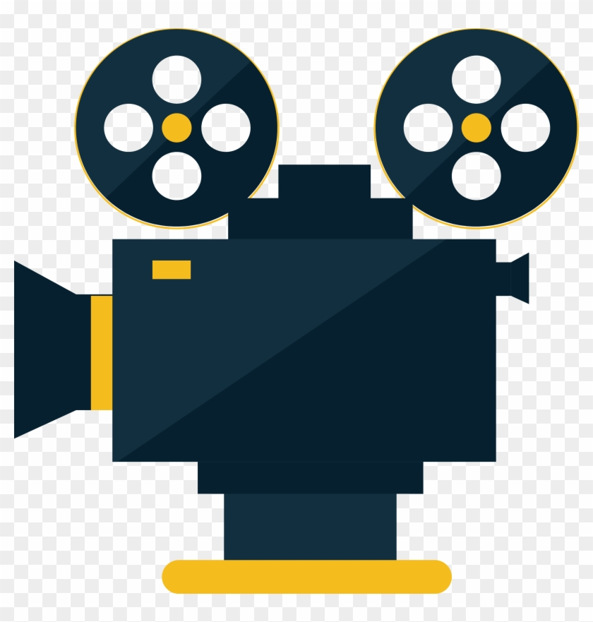 Movie Projector Cinema Icon - Movie Projector Png #66788