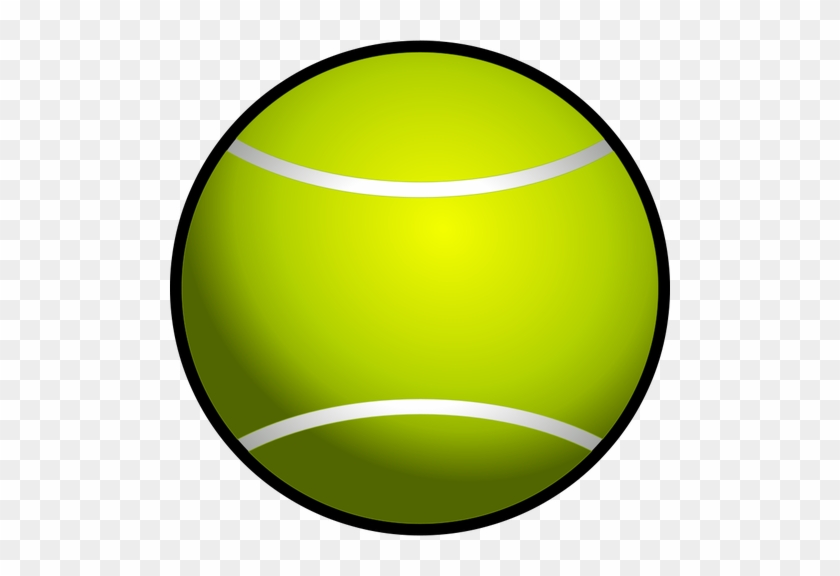 Clipart Of Sphere, Boll And Disco Ball - Tennis Ball Clipart #66795