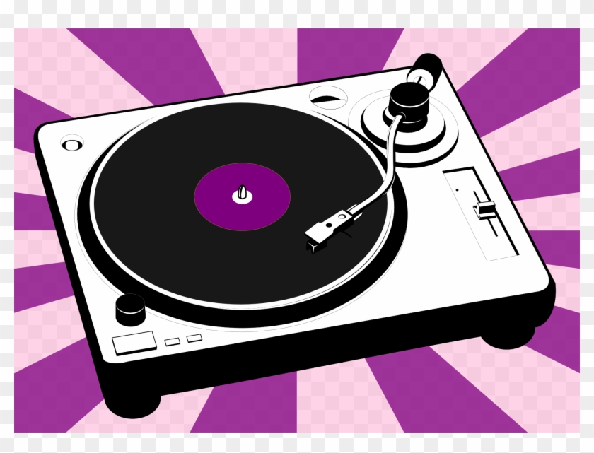 Turntable-310450 - Vinyl Player Clip Art #66799