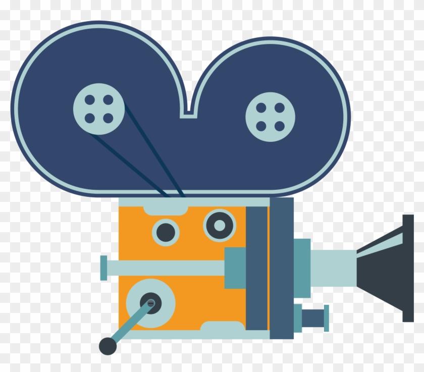 Vector Manual Movie Projector Material - Movie Projector #66843