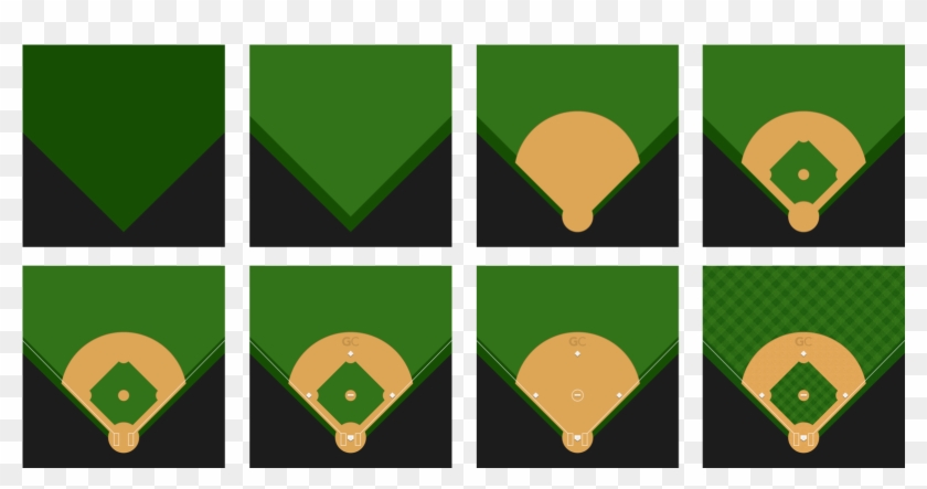 Building A Baseball Field For Every Screen • Gamechanger - Graphic Design #66997