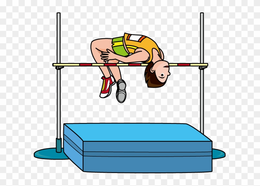Track And Field Clipart - High Jump Clip Art #67043