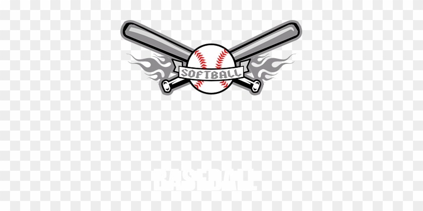 Free Men's Softball Cliparts, Download Free Clip Art, - Softball And Bat Clip Art #67075