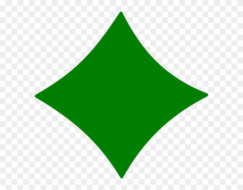 Diamond Clipart - Green Diamond Clip Art #67077