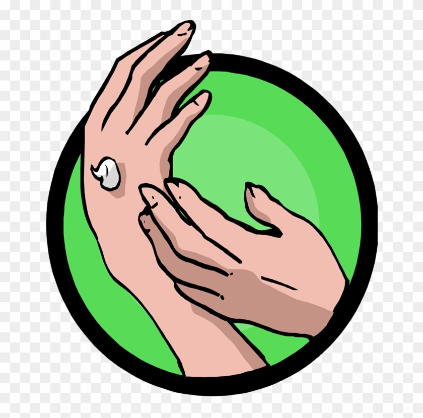 365 Days Of Fun In Marriage - Hand Massage Clipart #67104