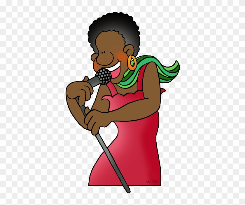 Art Clip Art By Phillip Martin, Singer - Phillip Martin Clipart Sing #67180