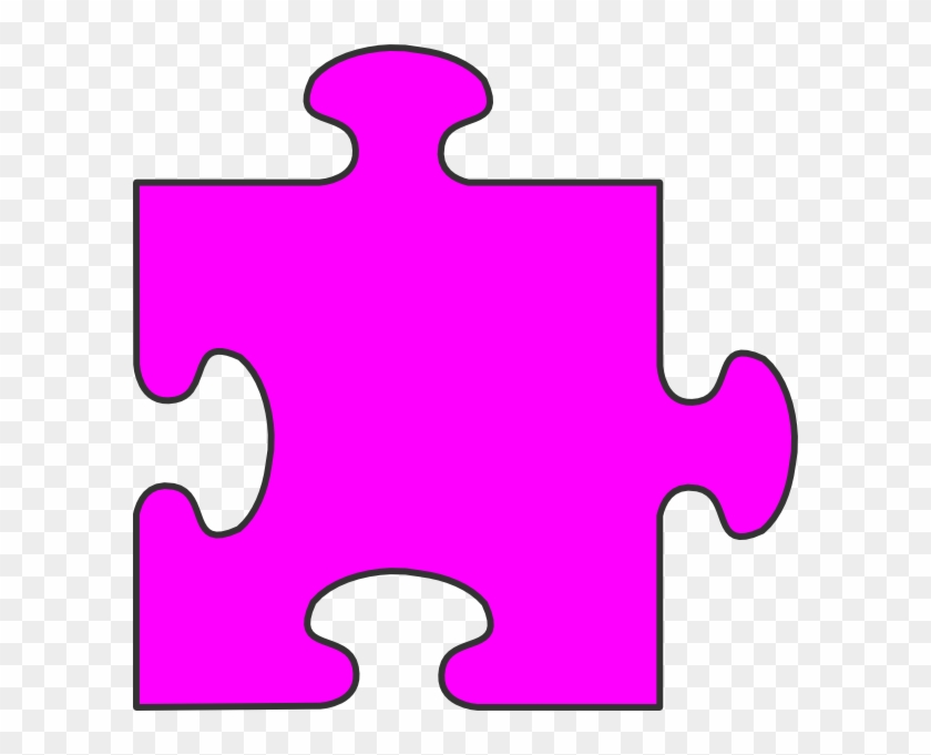 Orange Puzzle Piece Clipart #67238