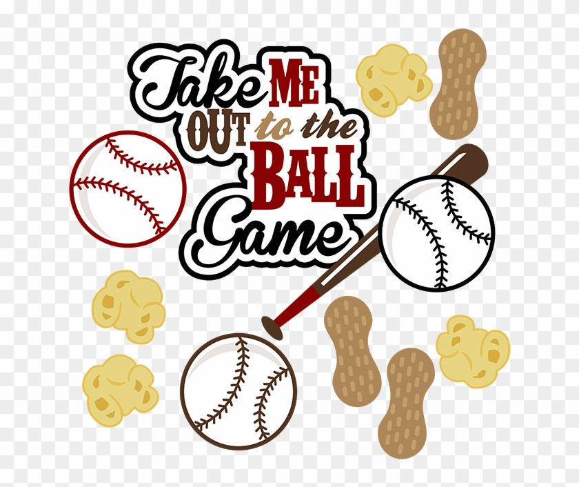 Clip Art - Take Me Out To The Ball Game Svg #67260
