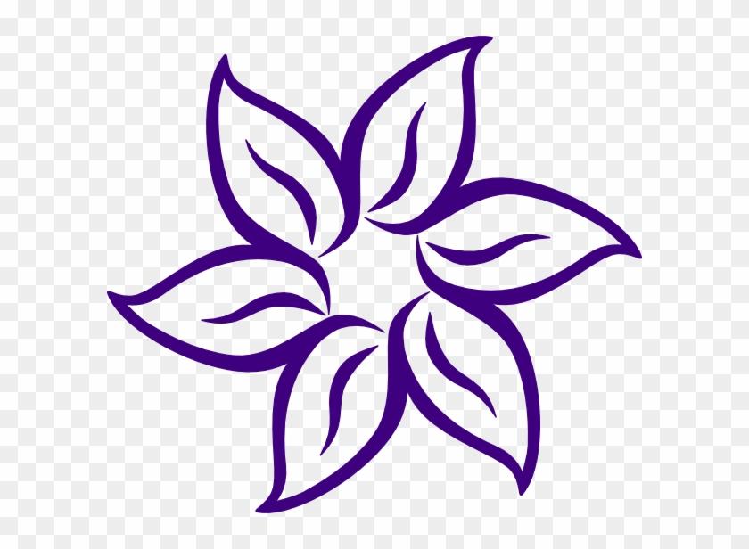 Lavender Flower Clip Art - Cartoon Flowers #67261