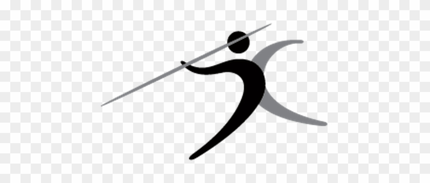 Sports - Javelin Throw Clip Art #67286