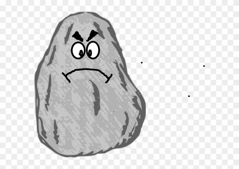 Boulder Clipart Cartoon - Rock Clip Art Free #67305