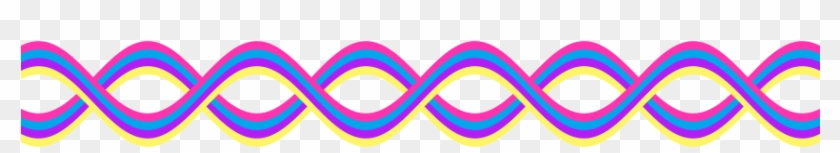 Decoration Clipart Squiggly Line - Colorful Border Lines Png #67315