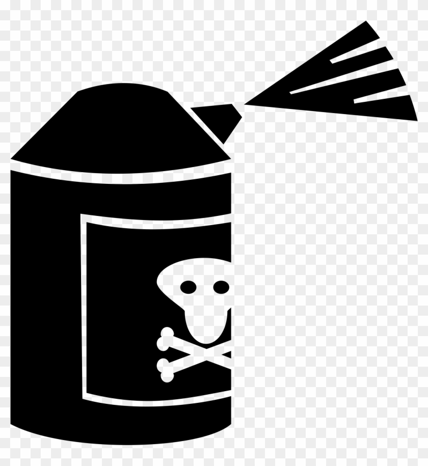 Poison Can - Insecticide Clipart #67332