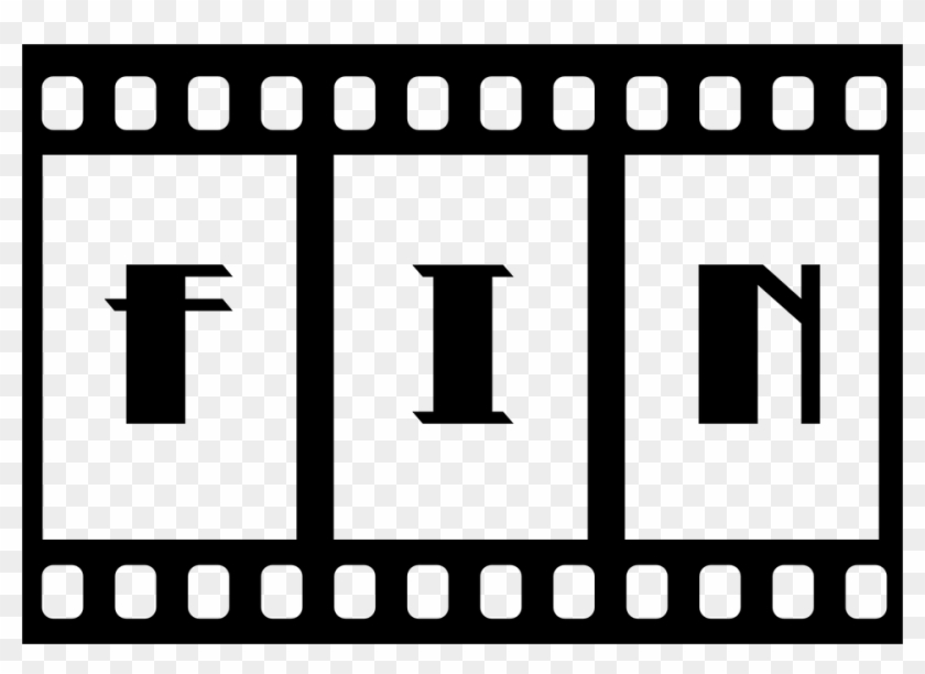 Fin End Film Filmstrip Slide Motion Picture Movie - Fin De Una Pelicula #67384
