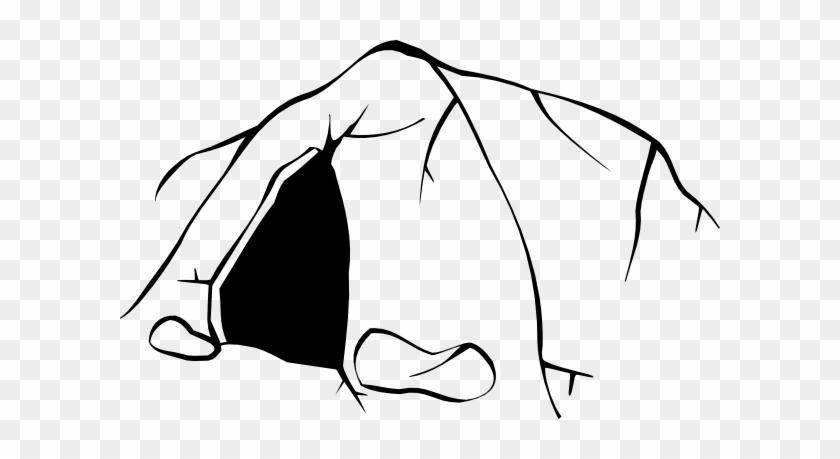 Cave Door Clip Art At Clker - Cave Clip Art #67390