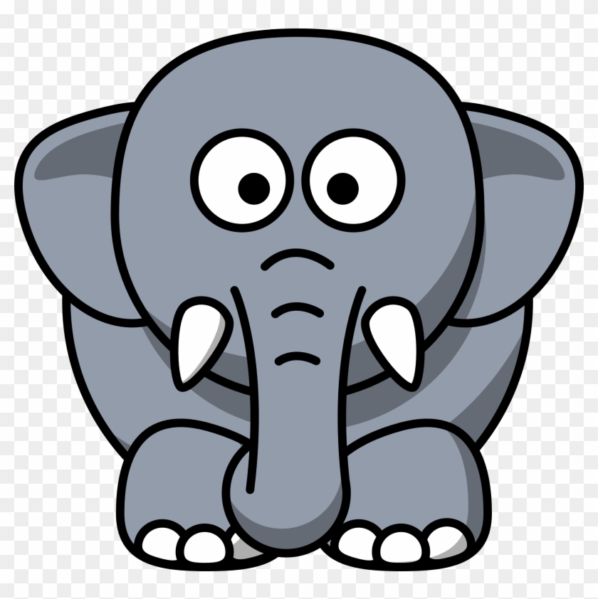 Dasara Elephant Clipart - Elephant Cartoon #67401