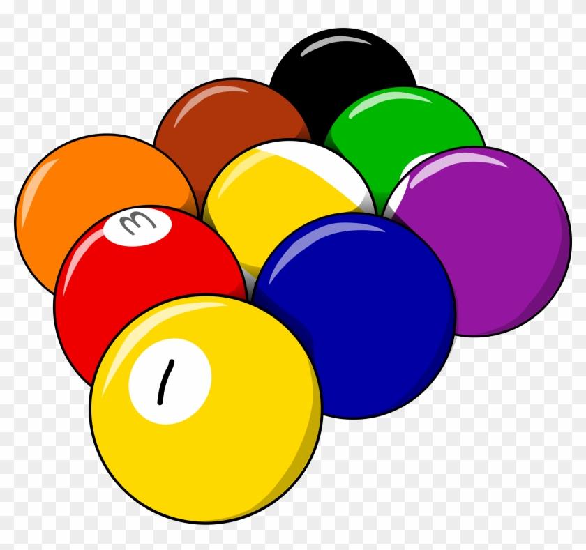 Clipart - 9 Balls Clipart #67421