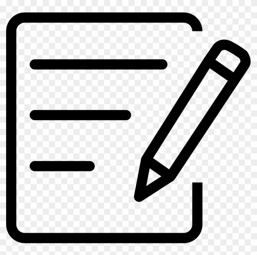 Notepad Svg Png Icon Free Download - Notepad Icon Png #67441