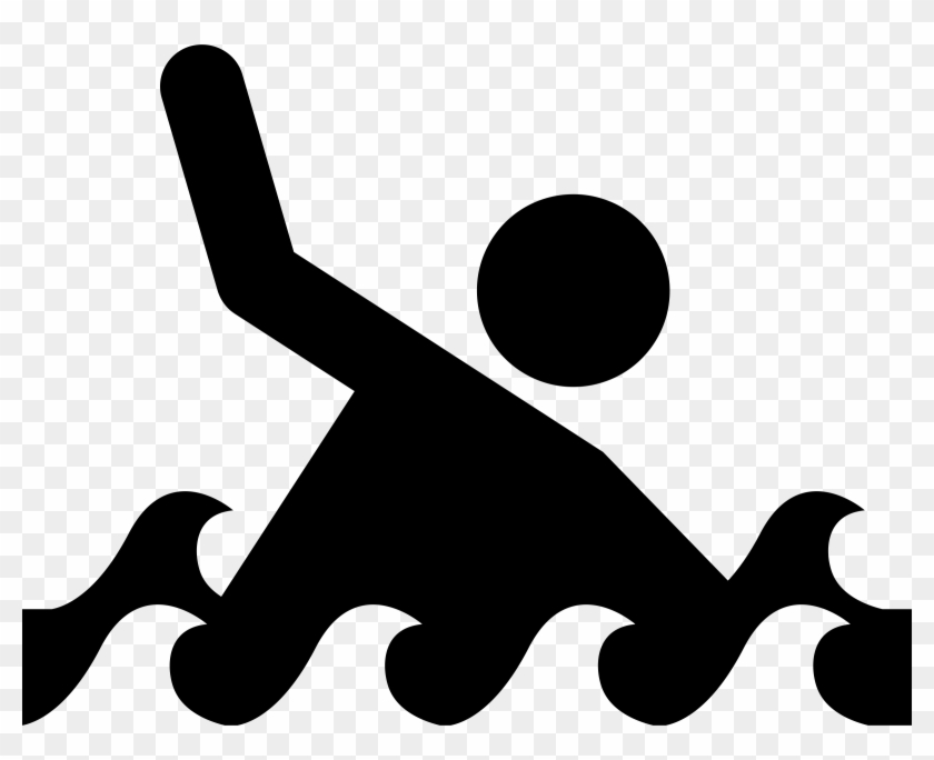 Ocean Safety By Jim Jung - Drowning Clip Art #67478