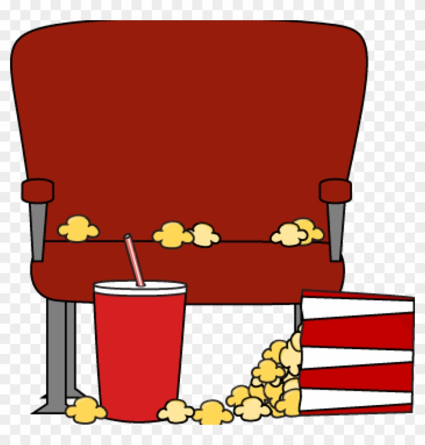 Movie Theater Clip Art Movie Clip Art Movie Images - Cartoon Movie Theater Seats #67636