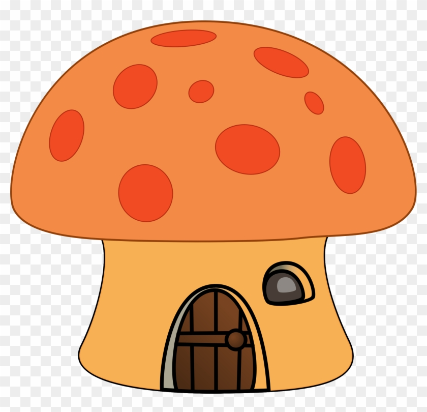 Big Image - Mushroom House Cartoon Png #67667