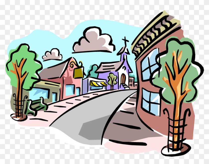 Town Clipart - School And Community Relations #67697