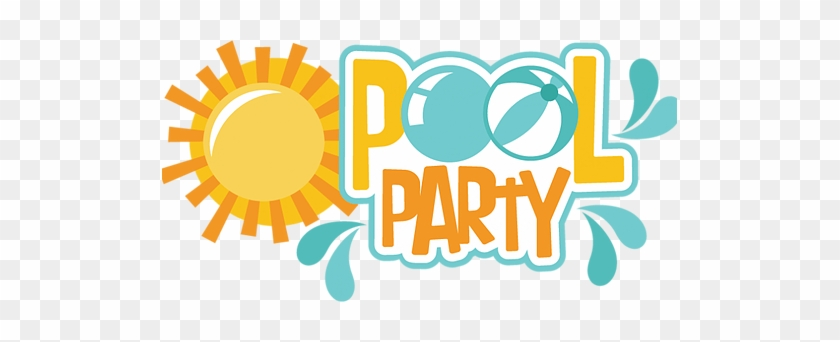 Pool Party Clipart Transparent - Pool Party Logo #67745