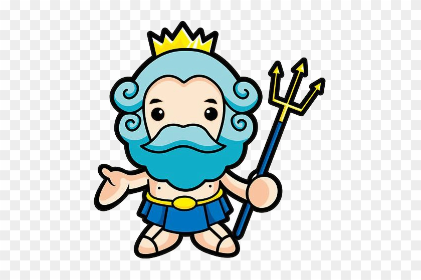 Welcome To Neptune Aquatics Solutions - Greek Gods Cartoon #67757