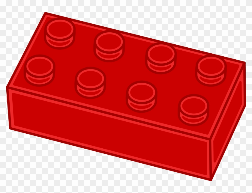 Download Vector Graphic Brick Lego Red - Red Block Clipart #67754