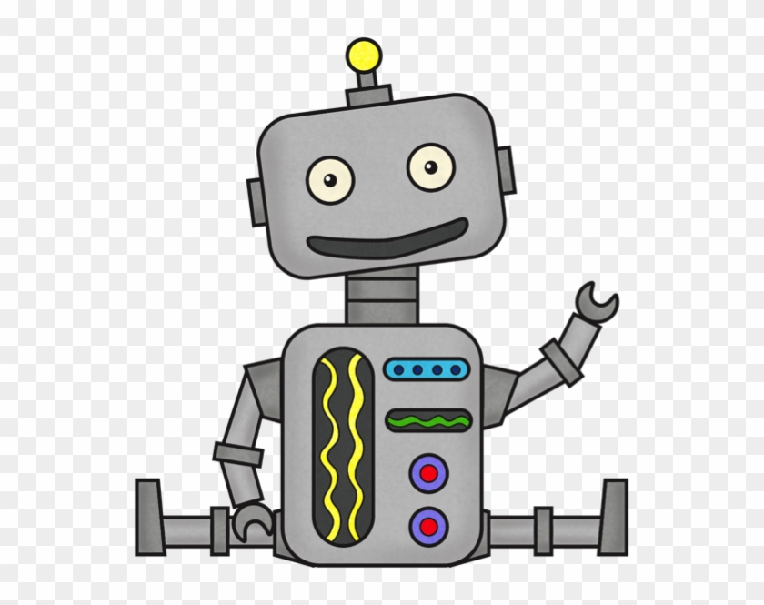 Robot Clip Art Free Simple Machines Free Transparent Png Clipart