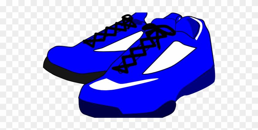 Blue Shoes Clipart #67768