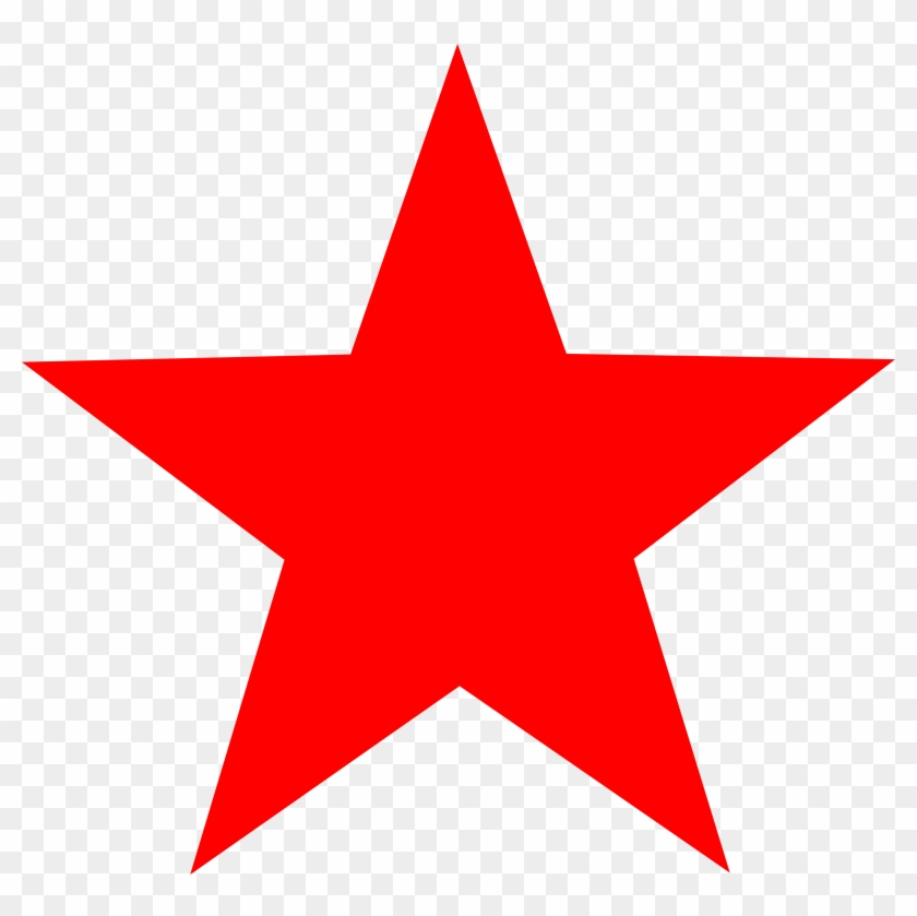 Red Star Clip Art - Red Star Clipart #67795