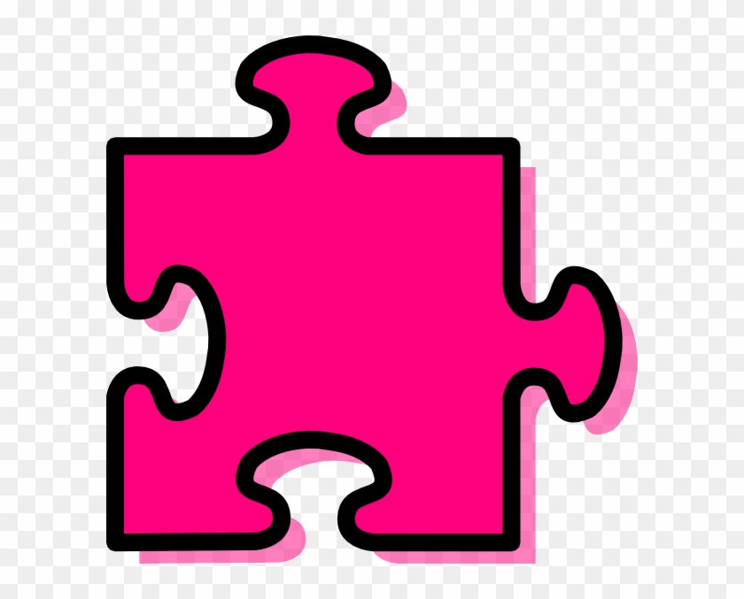 Jigsaw Clipart - Clip Art Jigsaw Piece #67809