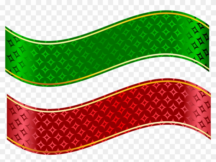Red And Green Strip Set Png Clipart - Strip Clipart #67845