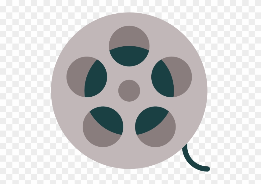 Film Reel Free Icon - Movie Clapper Tool Png #67945