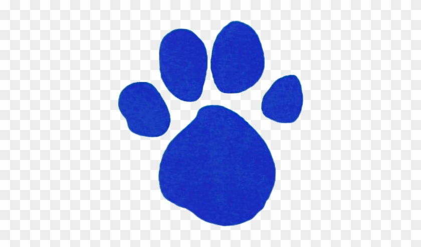 A Picture Of A Clue From Blues Clues - Blues Clues Paw Print #67960