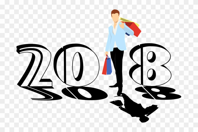 Year Is Neither End Aur Nor Beinging, But A Going On - Wishing Happy New Year 2018 #386169