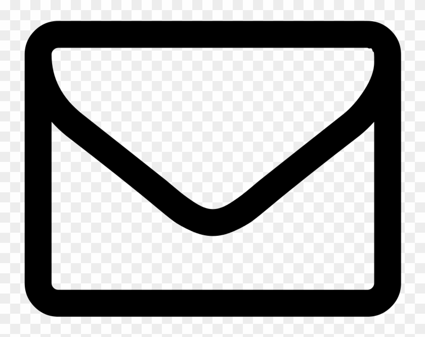 Envelope Png - Youtube Logo Black And White Png #386214
