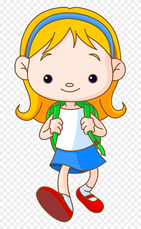 School Children 135 - School Child Cartoon #386283