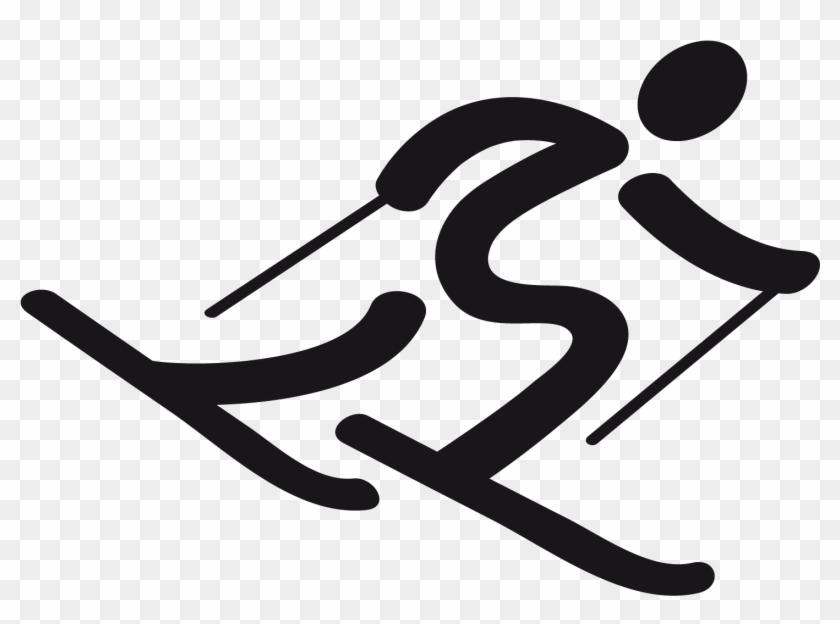 17 Alpine Olympic Icon Image Alpine Skiing Olympic Symbol Free