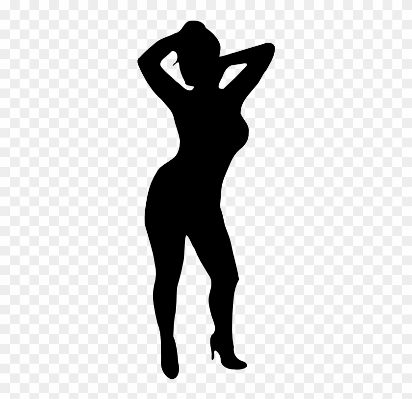Woman Silhouette Sexy Black Woman Silhouette Free Transparent