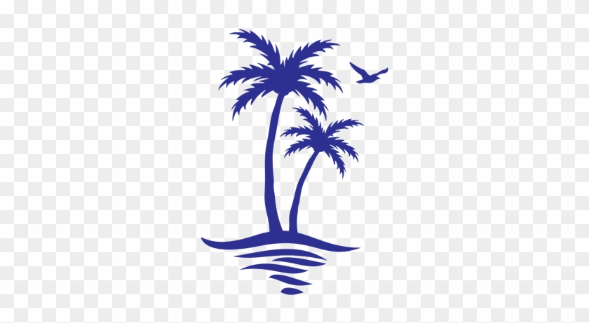 It's Your Retirement, Live It - Palm Tree And Beach Icon #387521