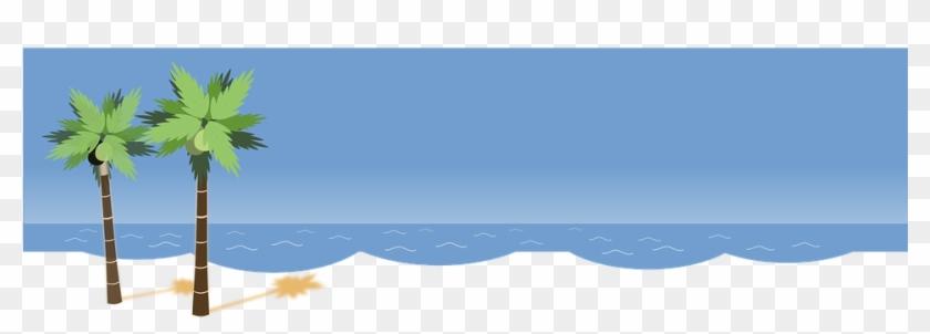 Tropical Beach Clipart 7, Buy Clip Art - Palm Tree Clip Art #387551