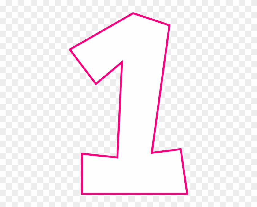how to set use number one pink svg vector clip art free rh clipartmax com number line clip art to 20 number line clipart 0-10