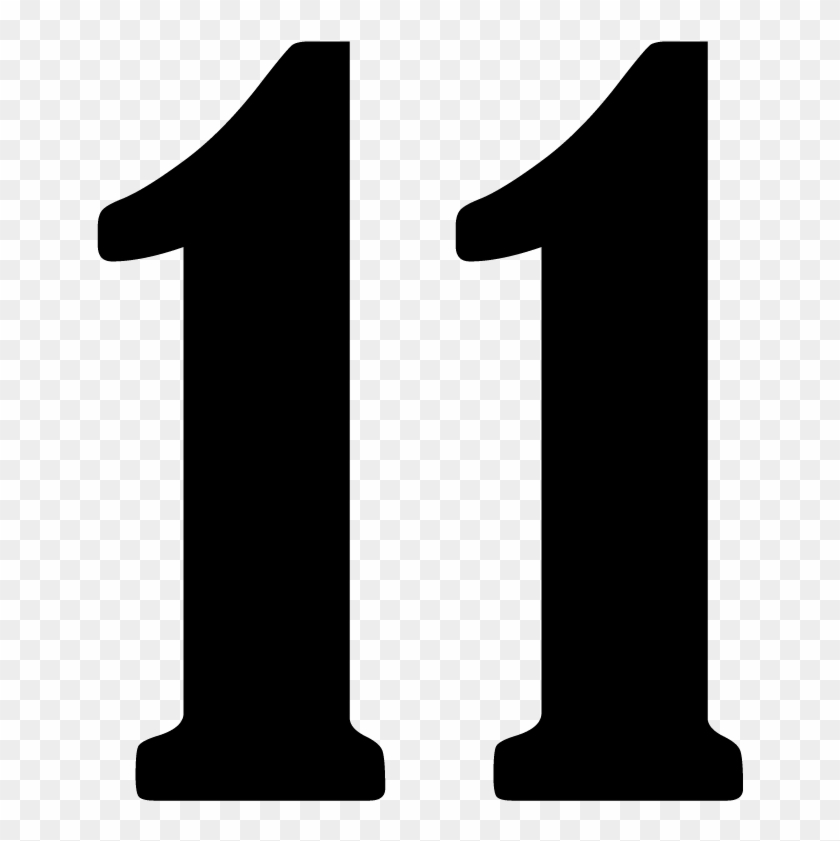 Clipart Of Number 11 - Clipart Of Number 11 - Free ...
