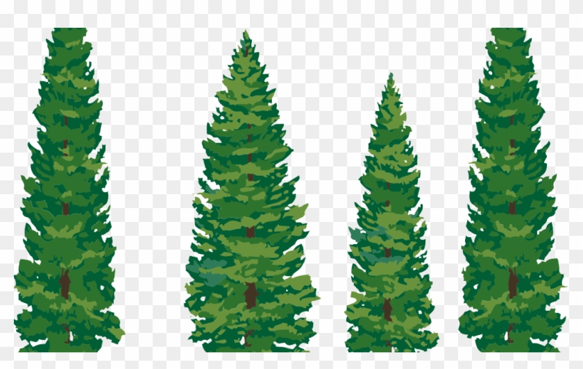 Transparent Pine Tree Clip Art #387949