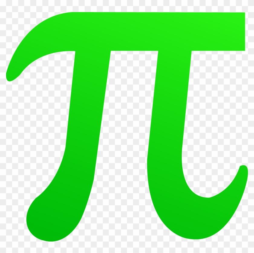 Green Pi Symbol Mathematical Symbols Clip Art Free Transparent