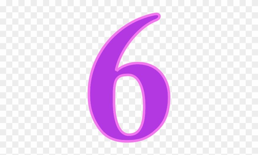 Number 6 Png - Number 6 Transparent Png #387993