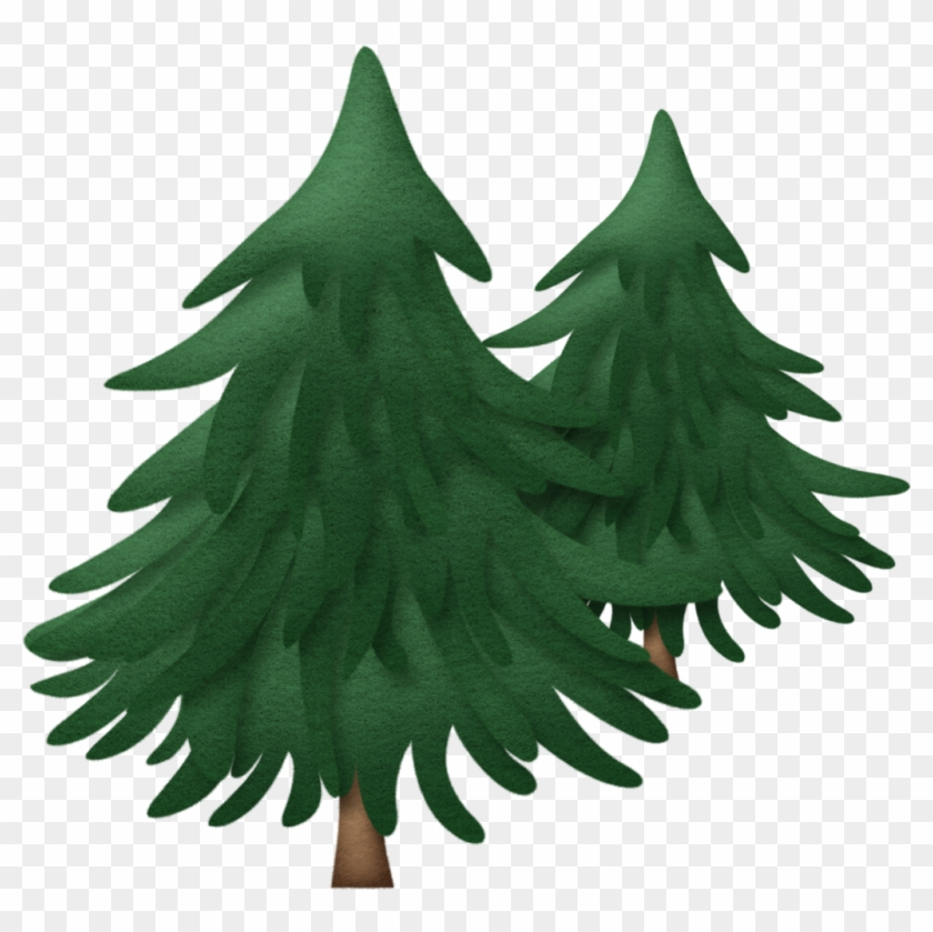 Pine Trees - Clip Art Christmas Pine Tree #388003